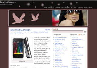 Wordpress theme Aapna