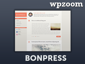 Wordpress theme BonPress