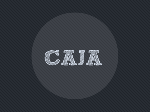 Wordpress theme Caja
