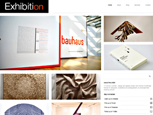 Wordpress theme Exhibition Theme