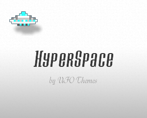 Wordpress theme HyperSpace