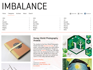 Wordpress theme Imbalance