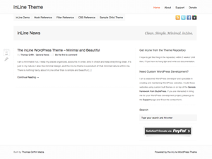 Wordpress theme inLine