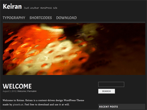 Wordpress theme Keiran