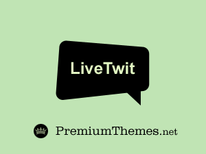 Wordpress theme LiveTwit