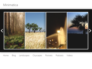 Wordpress theme Minimatica