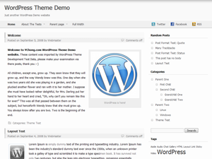 Wordpress theme Nest