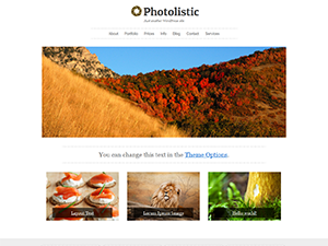 Wordpress theme Photolistic