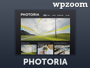 Wordpress theme Photoria
