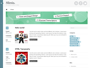 Wordpress theme Silesia
