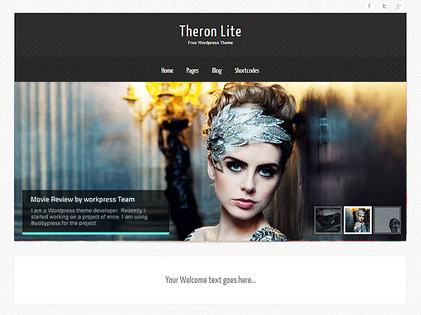Wordpress theme Theron Lite