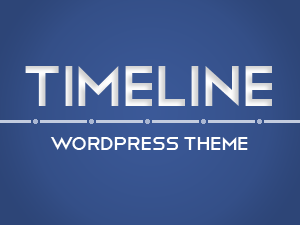 Wordpress theme Timeline