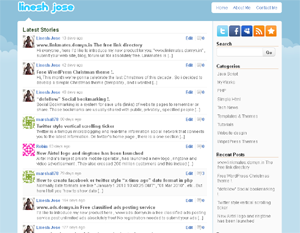Wordpress theme Twitter_Like