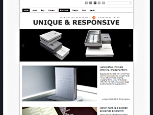 Wordpress theme Unique Theme Responsive