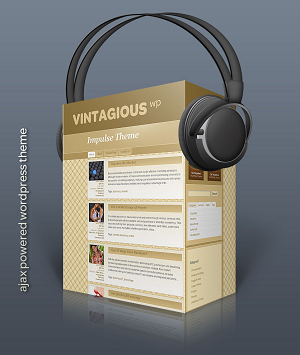 Wordpress theme Vintagious