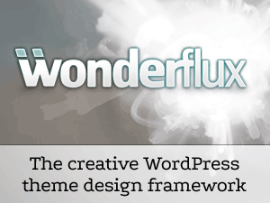 Wordpress theme Wonderflux Framework