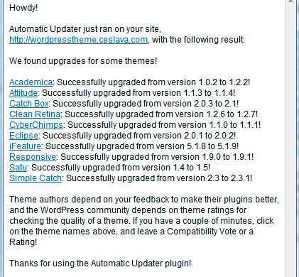 automatic-updater-wordpress