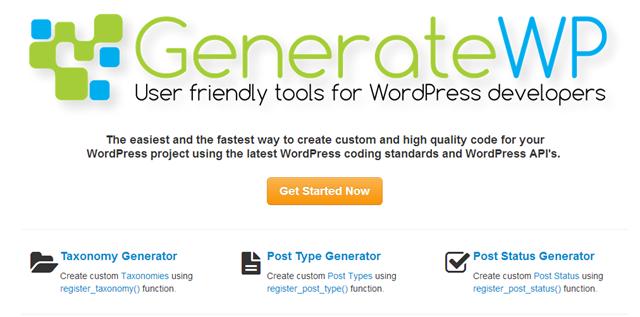 12 generadores de código para desarrollo de WordPress