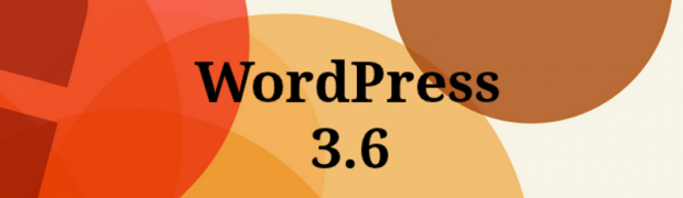 WordPress 3.6 y Twenty Thirteen ya disponibles